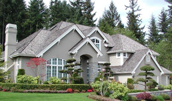 Проекты отделки домов с фасада